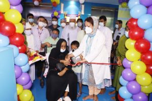 Ad-Din Hospital for poor patients' kidney treatment