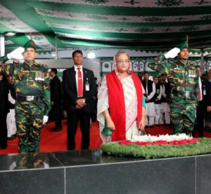AL pays homage to Bangabandhu on Independence Day