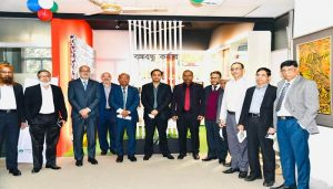 Bashundhara Group Managing Director visits BDBL office