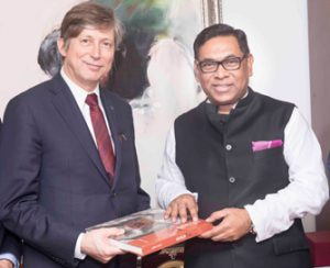 Belgian companies keen to work in Bangladesh's power sector: Envoy