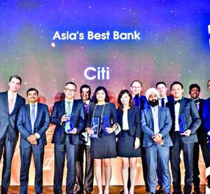 Citi named as best bank in Asia