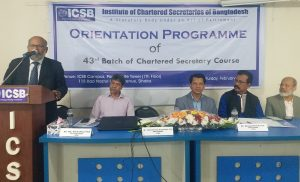 ICSB launches 43rd Batch of Chartered Secretary Course