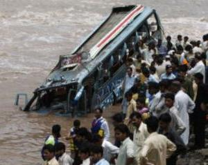 13 killed as passenger mini-bus plunges into river in India