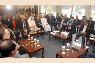 Diplomats assure of continuing support to new govt: FM