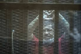 Egypt court recommends death for 6 codefendants but not Morsi