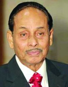 Ershad hails PM on successful launching of Bangabandhu-1 satellite