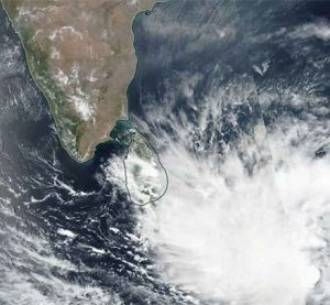 "Cyclone ""Fani"" moves north-northwestwards"