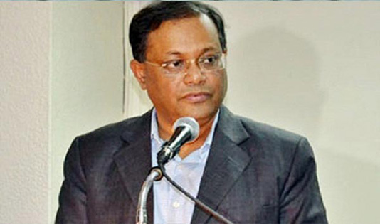 BNP's anarchy will not be tolerated: Hasan