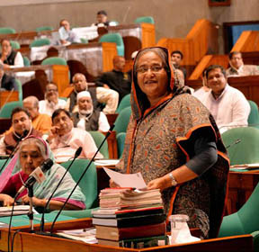 Freedom of speech exists in Bangladesh: PM