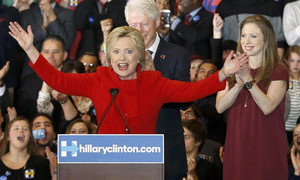 Clinton campaign claims Iowa caucus victory