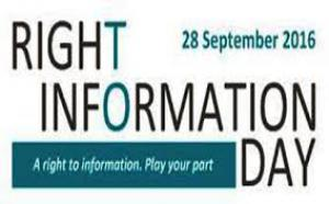 International Right to Information Day