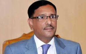Quader asks Khaleda to correct herself