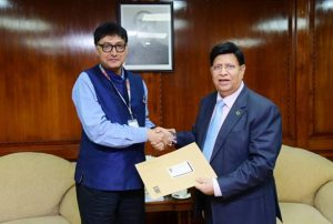 UNDP Resident Representative presents credentials to Momen