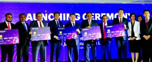 CaiJianbo, CEO of UnionPay International along with Md. Hedayetullah, Chairman, Rashed A. Chowdhury, former Chairman, MA Rouf, Director and Anis A Khan, Managing Director of Mutual Trust Bank Limited (MTB), attended the launching ceremony of MTB UnionPay Payment Solutions at a hotel in the city recently. Liu Heng, GM, Hong Kong Office, Zhang Zihong, Project Manager, South Asia, Jiang Renjie, Country Manager, Nepal and Bangladesh of UnionPay International, Sergey Putenikhin, VP of Eastern Joint Regional Directorate Managing Director, Igor Simonov, Regional Sales & Account Manager of Compass Plus, Russia and Syed Rafiqul Haq, Deputy Managing Director and Chief Business Officer (CBO), Goutam Prosad Das, DMD and Mohammad Anwar Hossain, Head of Cards of the Bank were also present.