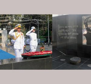 Navy chief pays tribute to Bangabandhu