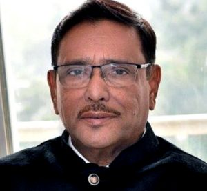 Quader's physical state improving steadily: doctors