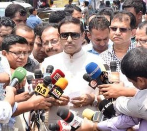BNP criticizes PM's Saudi visit finding no other issue: Quader