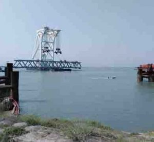 Installation of 11th span on Padma Bridge today