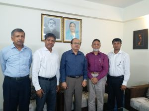 ICSB delegation call on Mr. CQK Mustaq Ahmed, Chairman at Financial Reporting Council (FRC)