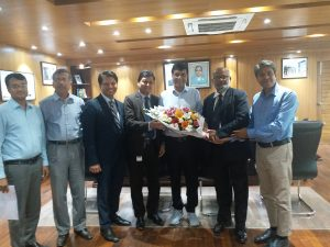 ICSB delegation met with the Chairman, Bangladesh Securities and Exchange Commission (BSEC)