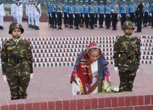 PM pays tributes to martyrs on Victory Day