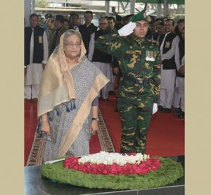 PM pays homage to Bangabandhu on historic March 7