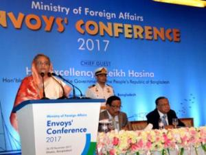 Take job as a great assignment, PM calls envoys