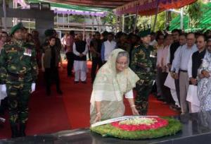 PM pays homage to Bangabandhu on satellite launching