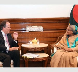PM seeks sustained global pressure to repatriate Rohingyas