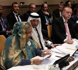 PM urges OIC to show unity over Rohingya issue