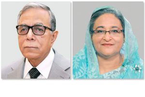 President, PM greet 'Public Administration Padak' recipients