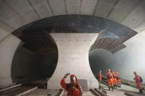 World's longest rail tunnel set for grand opening