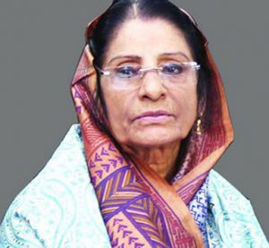 Rowshan thanks countrymen for showing respect to Ershad