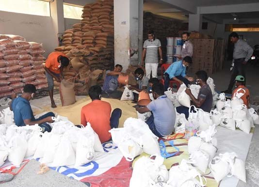 54.48 lakh people get relief support in Rajshahi division
