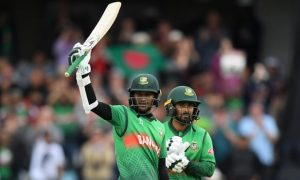 Shakib's ton powers Tigers to a facile victory over West Indies