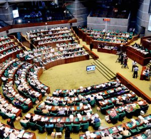 Govt hands over responsibility among ministers during JS session