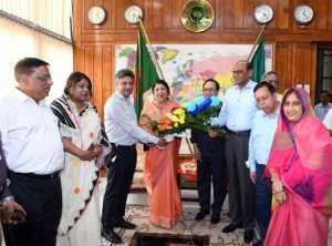 Parliament Members Club greets Dr Shirin on her 53rd birthday