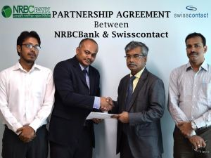 NRBCBank Signed Agreement with Swisscontact