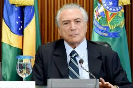Temer vows to get Brazil 'back on rails'