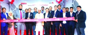 Mohammed Shawkat Jamil, Managing Director of United Commercial Bank Limited (UCB) inaugurated its 187th branch at Kashinathpur in Pabna on Thursday. N Mustafa Tarek,DMD, ATM Tahmiduzzaman, EVP and Javed Iqbal, Head of Brand Marketing & Corporate Affairs of the Bank and local elites were also present.