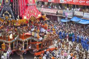 With pulling of rope of Ulto Rath, the Rath Jatra festival ended