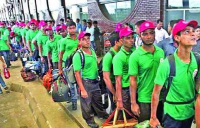 2.49 lakh workers go abroad, Bangladesh receives remittance $ 4,530 million till April