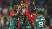 World Twenty20: Tigers suffer defeat despite fighting show